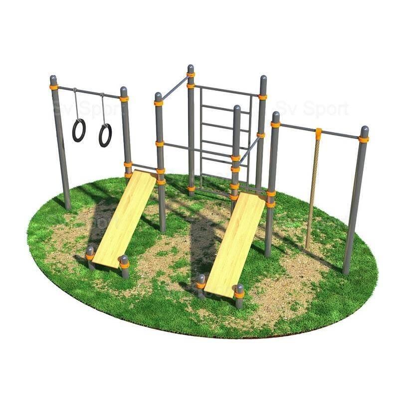 WORK 28 Спортивный комплекс Sv Sport Workout для подготовки к сдаче норм ВФСК W28