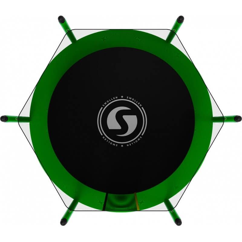 Батут SWOLLEN Lite 6 FT (Green). Диаметр - 183 см. Нагрузка - 110 кг.