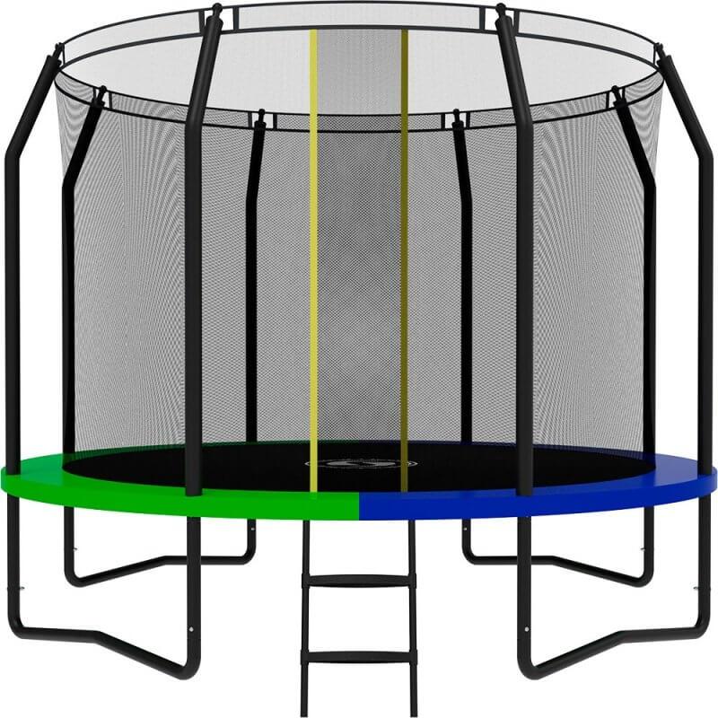 Батут SWOLLEN Prime Black 10 FT. Диаметр - 305 см. Нагрузка - 160 кг.