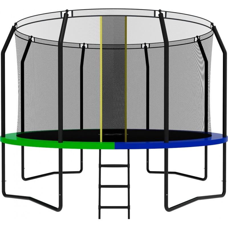 Батут SWOLLEN Prime Black 12 FT. Диаметр - 366 см. Нагрузка - 170 кг.