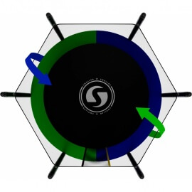 Батут SWOLLEN Classic 6 FT (усиленные опоры). Диаметр - 183 см. Нагрузка - 120 кг.