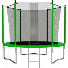 Батут SWOLLEN Lite 8 FT (Green). Диаметр - 244 см. Нагрузка - 140 кг.