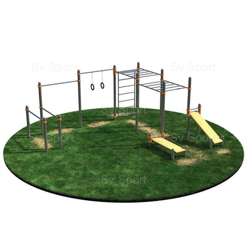 WORK 64 Спортивный комплекс Sv Sport Workout спортивно - развивающее оборудование