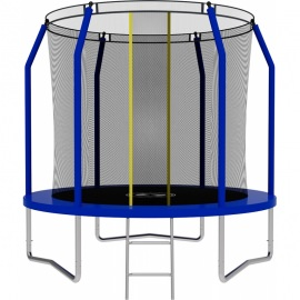 Батут SWOLLEN Comfort 8 FT (Blue). Диаметр - 244 см. Нагрузка - 140 кг.