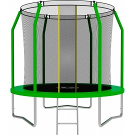 Батут SWOLLEN Comfort 8 FT (Green). Диаметр - 244 см. Нагрузка - 140 кг.