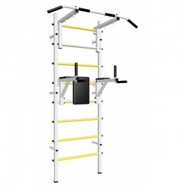 Шведская стенка усиленная с турником стандарт и брусьями (SV Sport усиленная ТстБ) код: 603
