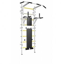 Шведская стенка усиленная с турником стандарт, брусьями и скамьёй (SV Sport усиленная ТстБС) код: 605