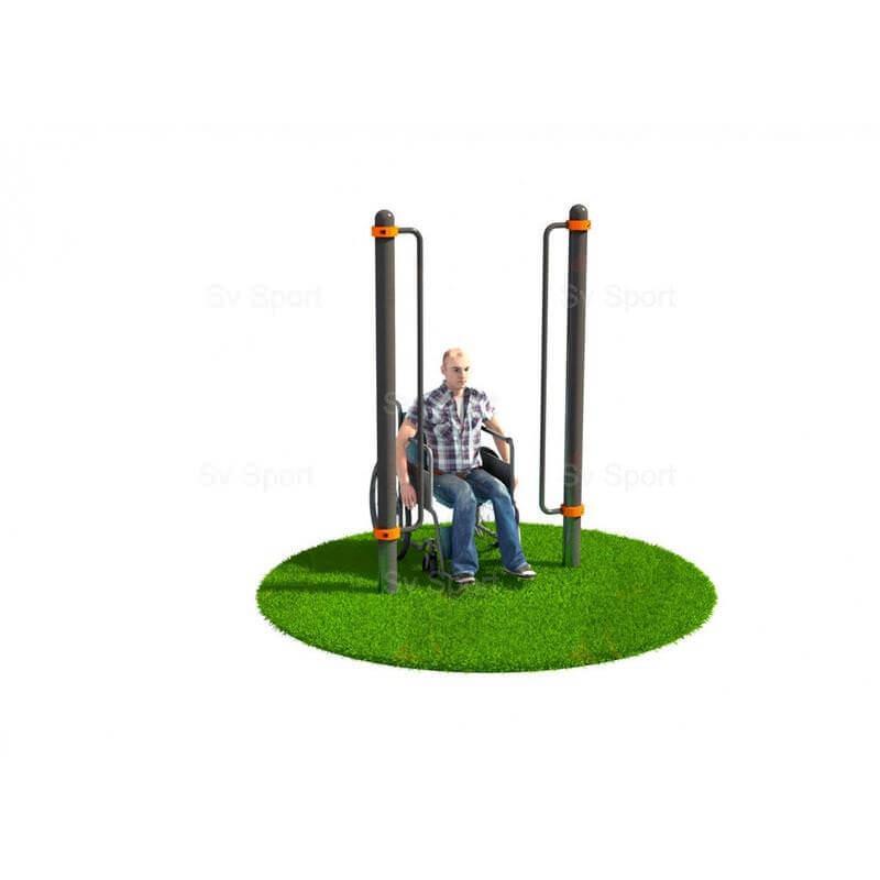 WORK 70 Спортивный комплекс Sv Sport Workout поручни для подъёма на инвалидной коляске