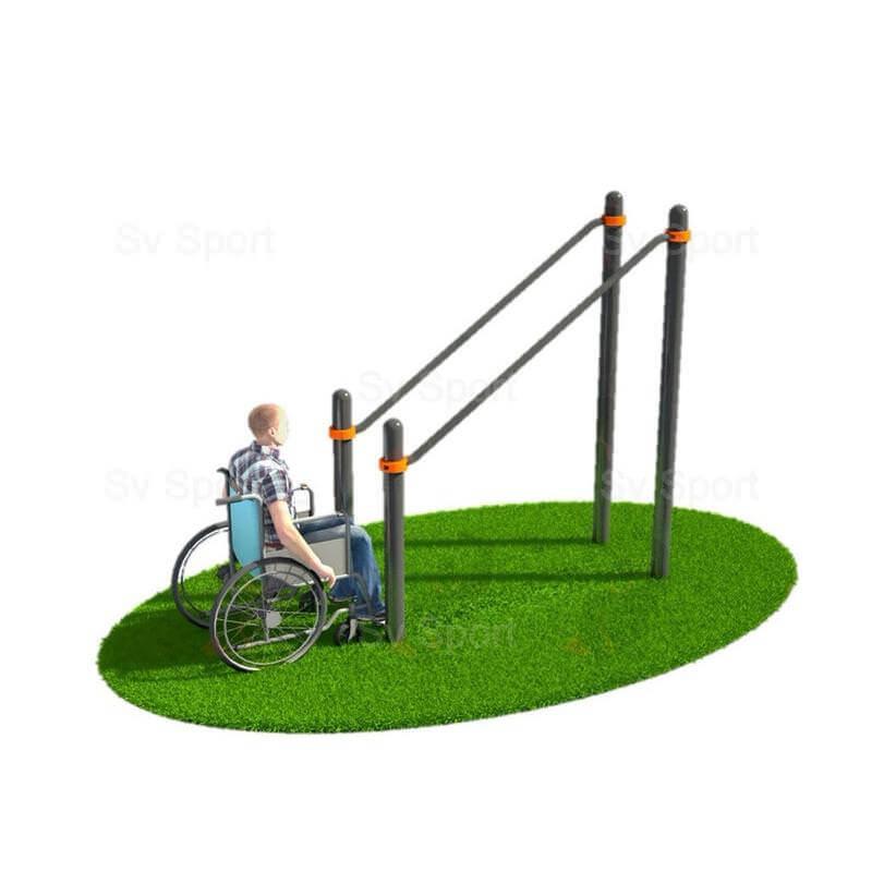 WORK 71 Спортивный комплекс Sv Sport Workout брусья параллельные в подъём