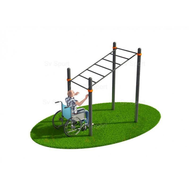 WORK 74 Спортивный комплекс Sv Sport Workout рукоход в подъём