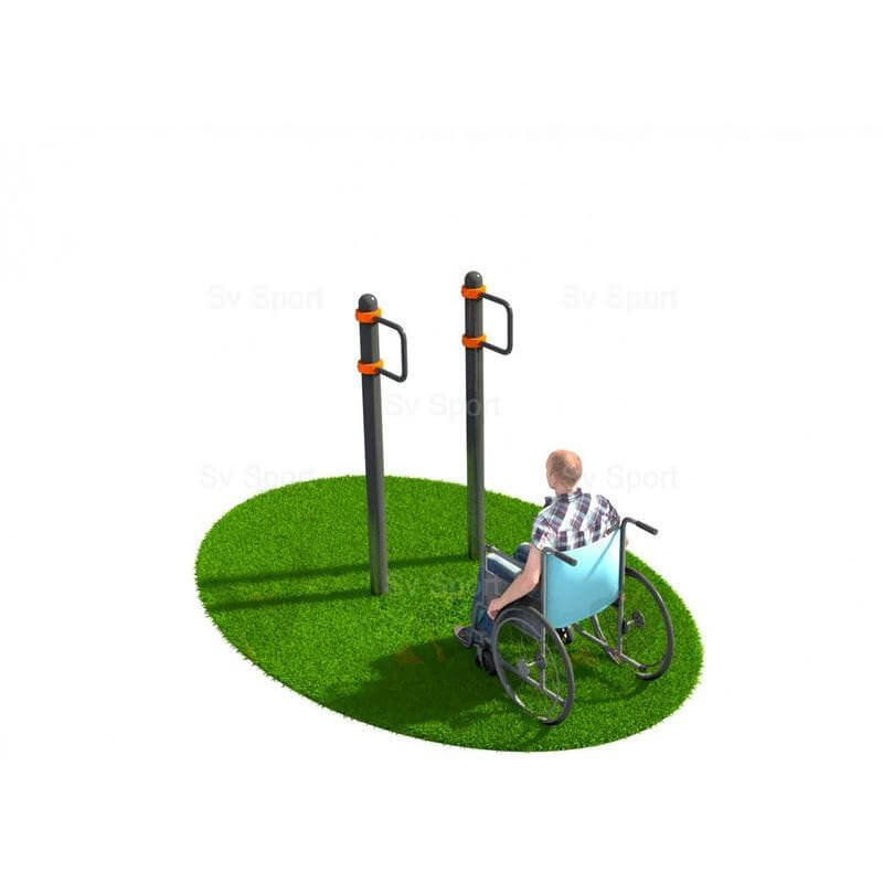 WORK 75 Спортивный комплекс Sv Sport Workout поручни для подтягивания на коляске
