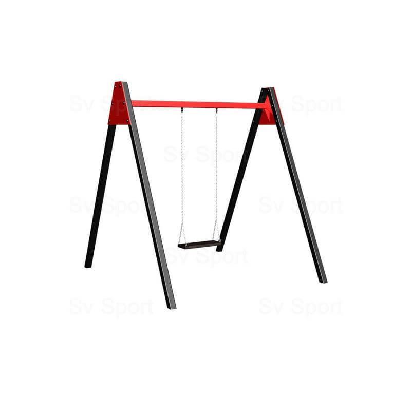 Уличные качели Sv Sport 1,8м (качель деревянная на цепях одноместная)